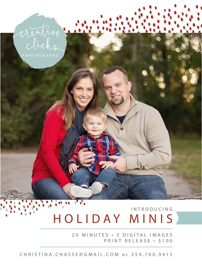 Katy, TX Holiday Mini Session