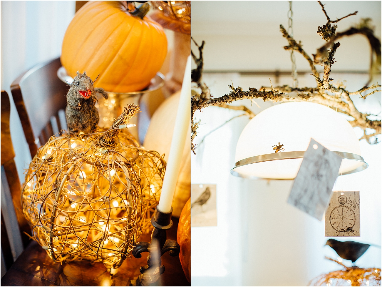 Indoor Halloween Fall Decor_05