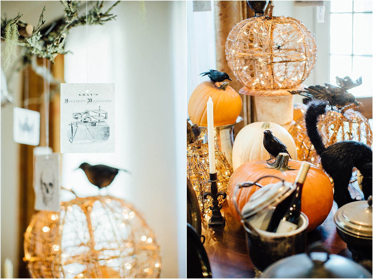 Indoor Halloween Fall Decor_09