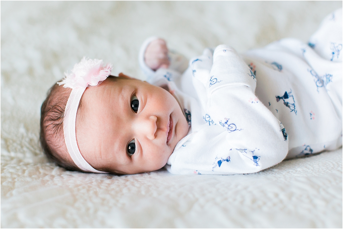 Tomball TX Indoor Lifestyle Newborn Shoot