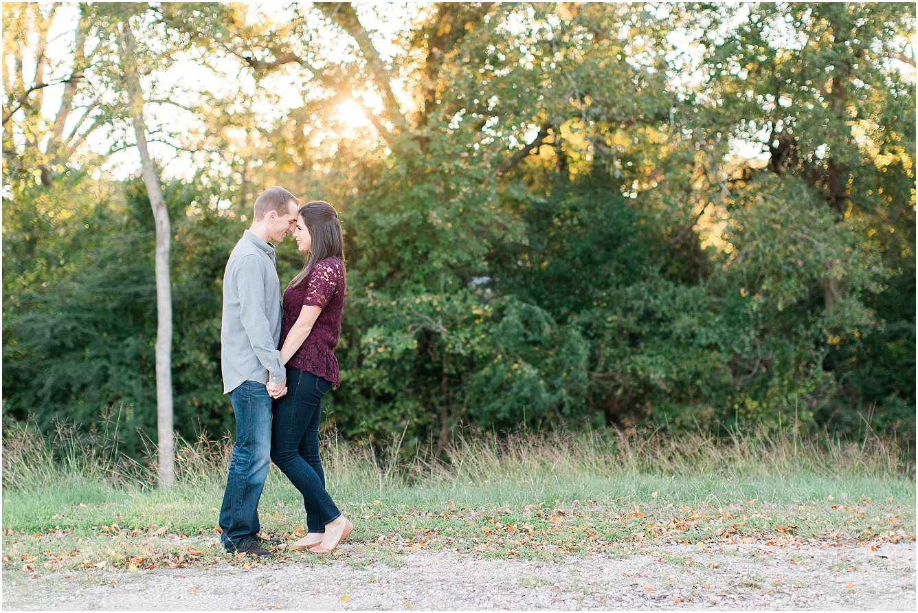 Cozy Fall Engagement Photography in Katy, TX_23