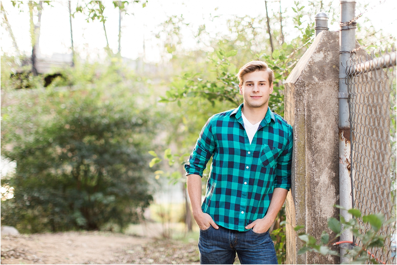 Outdoor Male Senior Session - Houston_01