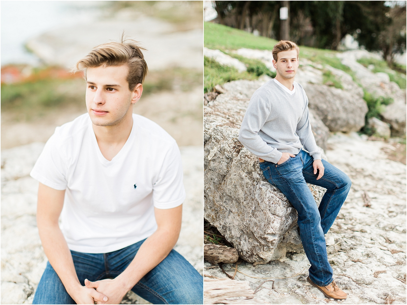 Outdoor Male Senior Session - Houston_07