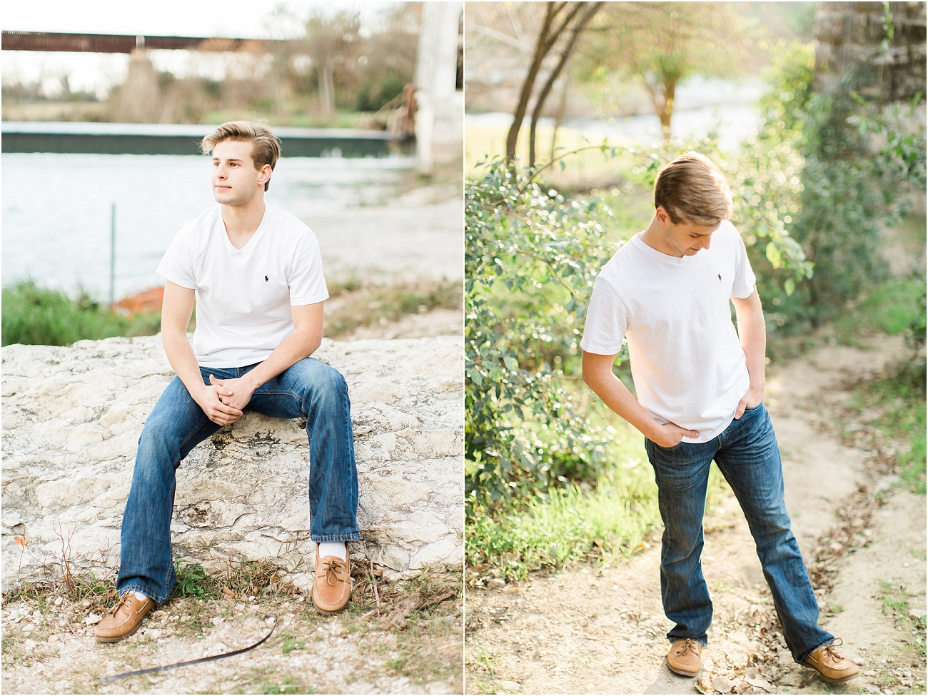 Outdoor Male Senior Session - Houston_11