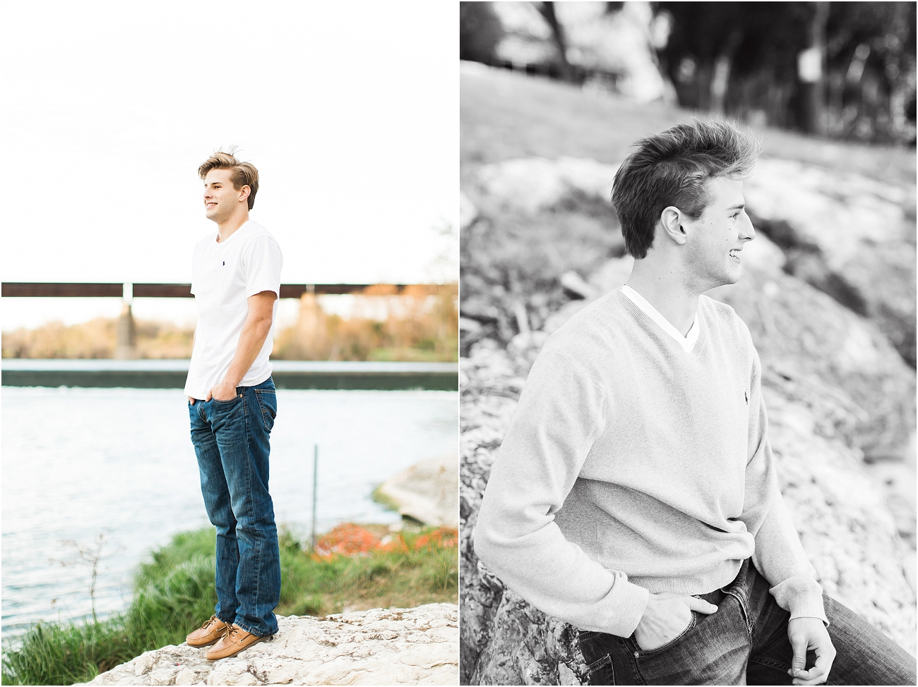 Outdoor Male Senior Session - Houston_12