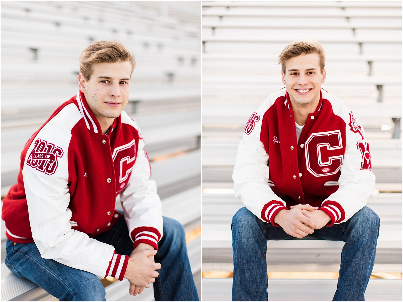 Canyon Cougars Senior Football Session - Houston TX Senior Photography_07