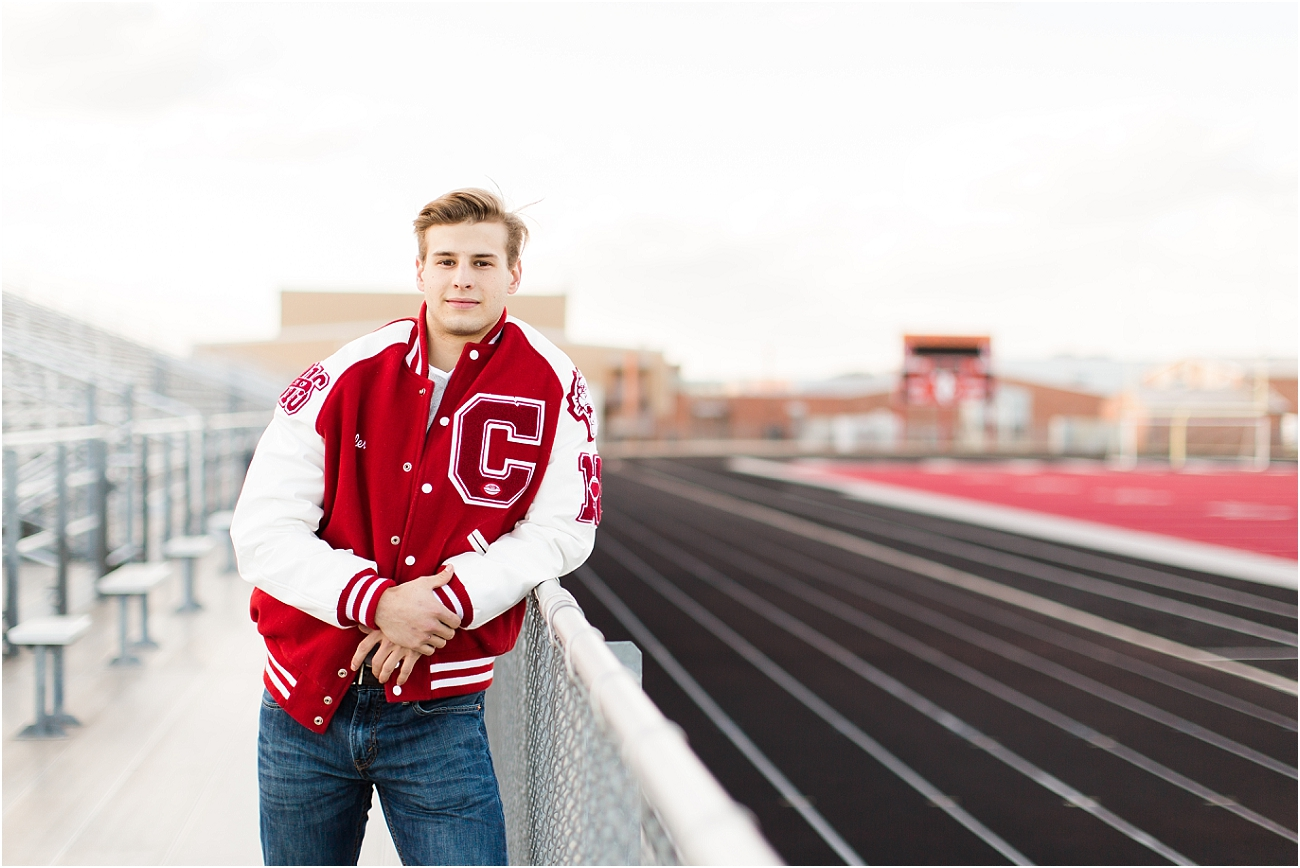 Canyon Cougars Senior Football Session - Houston TX Senior Photography_08