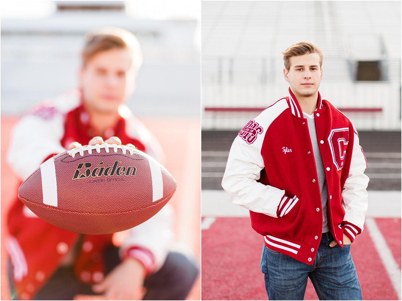 Canyon Cougars Senior Football Session - Houston TX Senior Photography_11