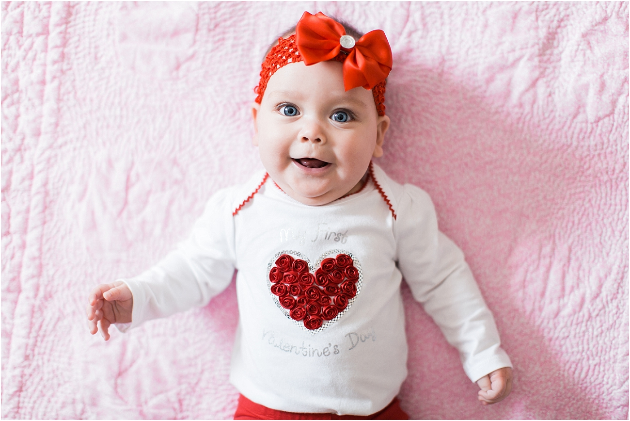 Baby Valentine Portraits Houston TX Photographer_1