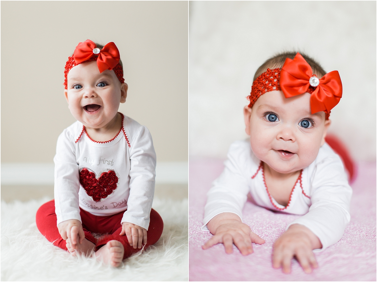 Baby Valentine Portraits Houston TX Photographer_6
