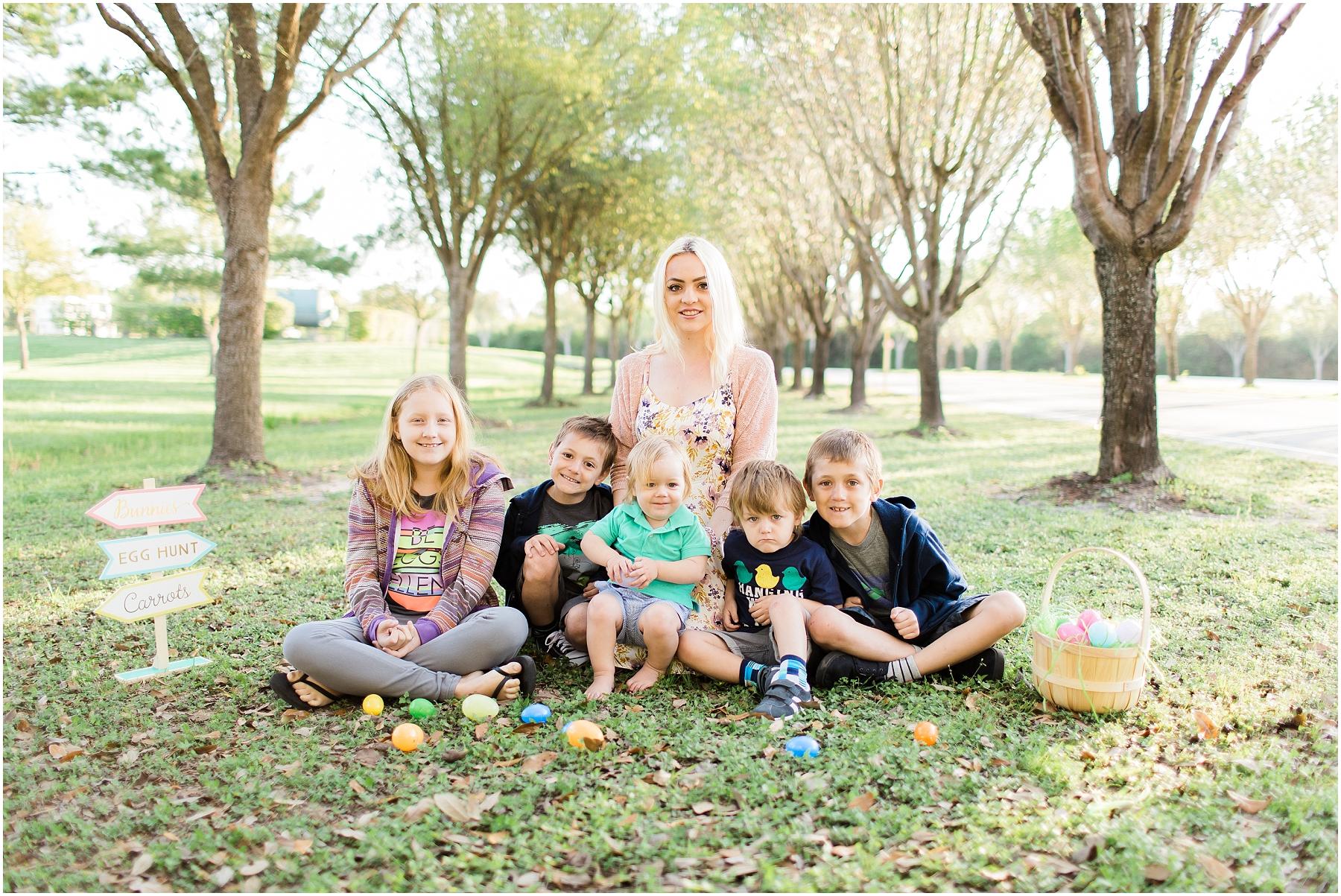 Katy TX Easter Mini Session Family Photographer_03