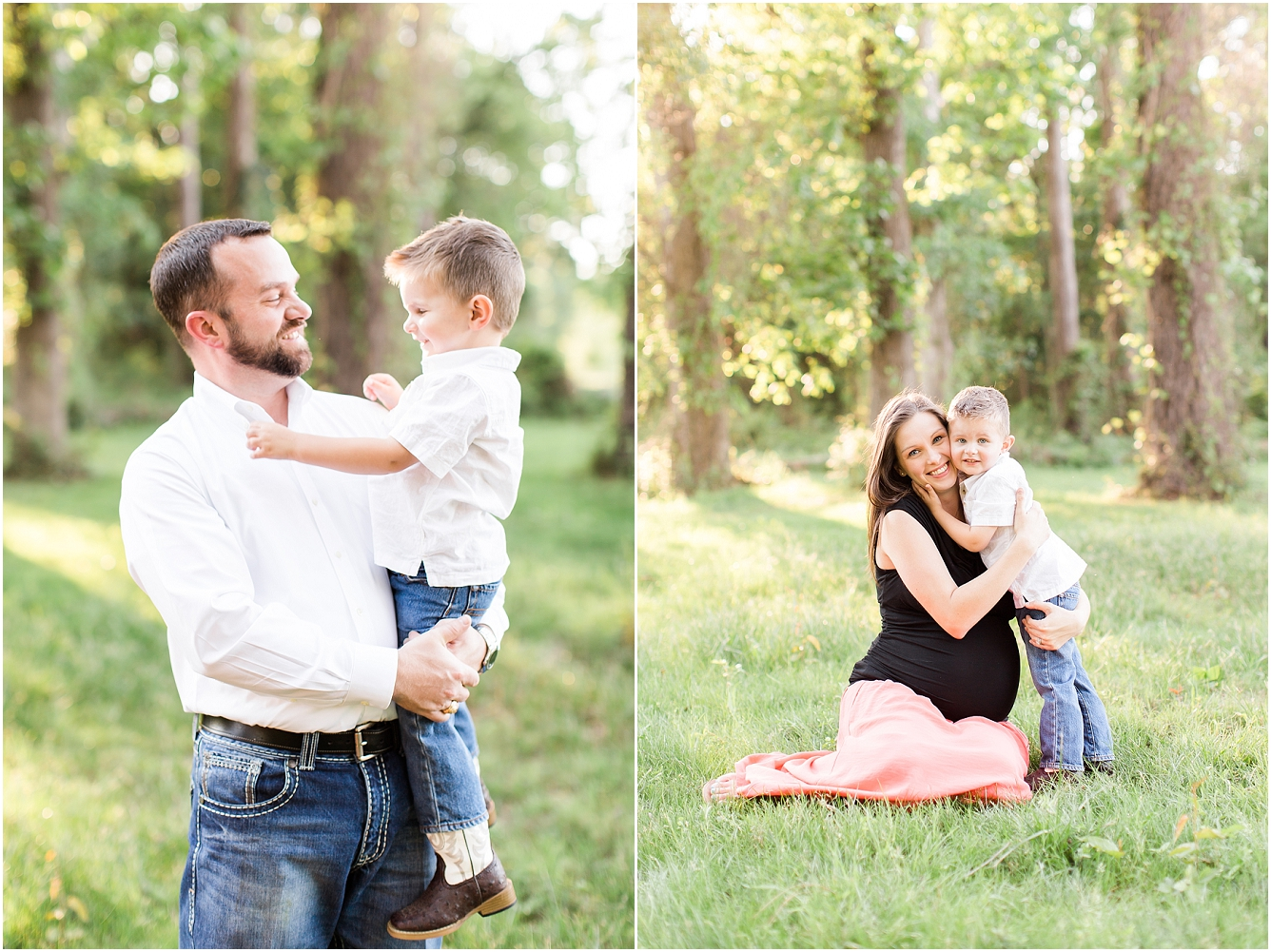 Forest Oaks Park Houston Outdoor Family Maternity Session_04