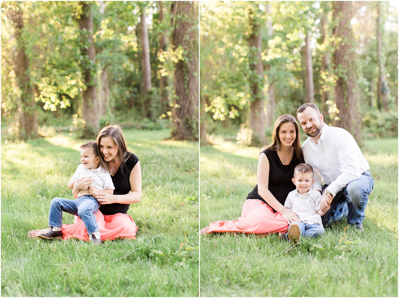 Forest Oaks Park Houston Outdoor Family Maternity Session_06