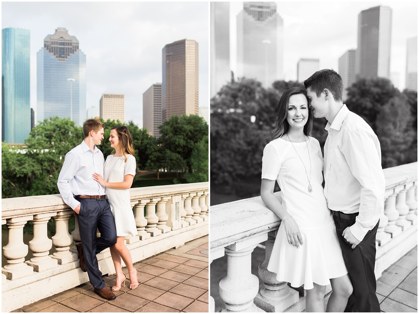 Downtown Houston Engagement Session_19