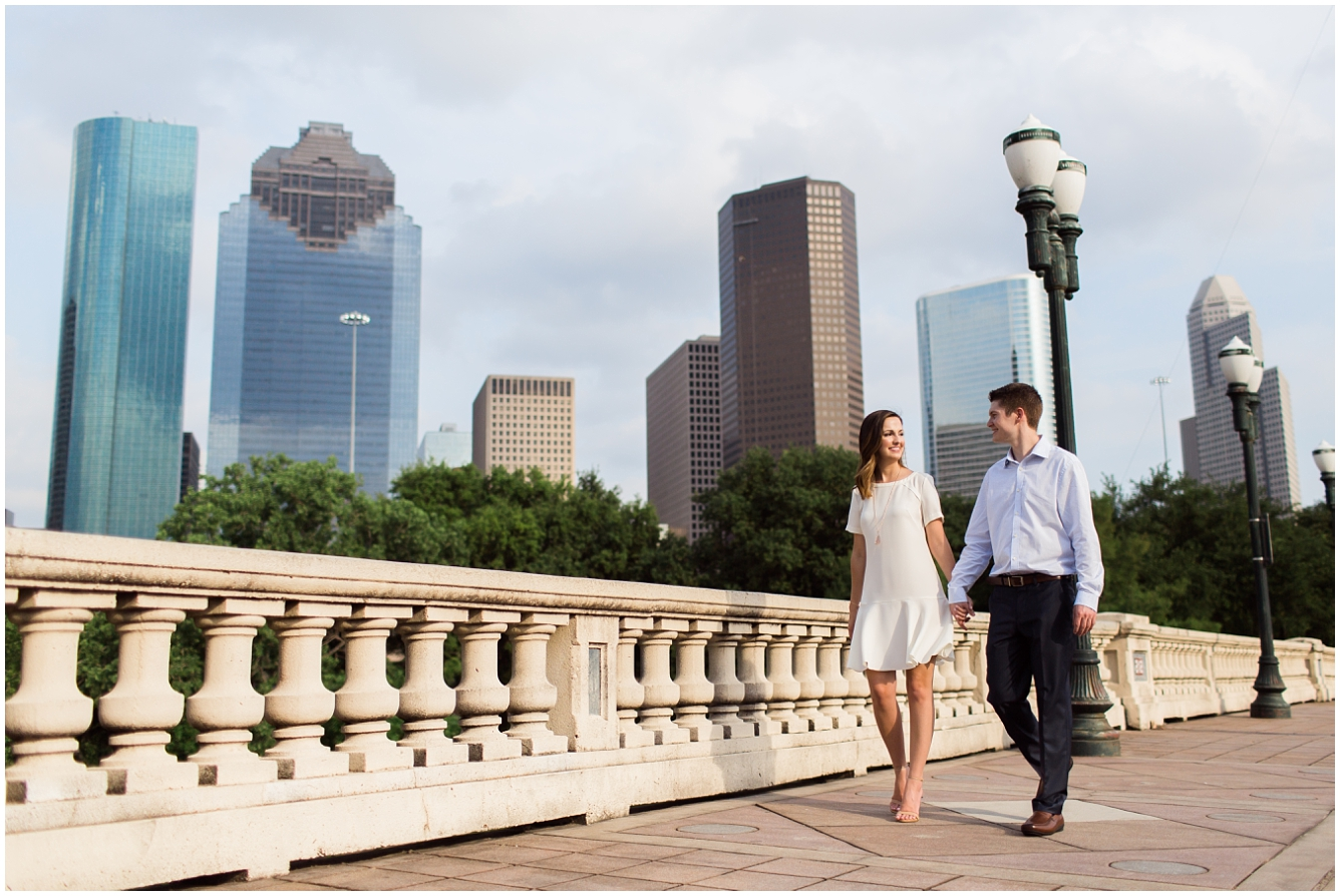 Downtown Houston Engagement Session_20