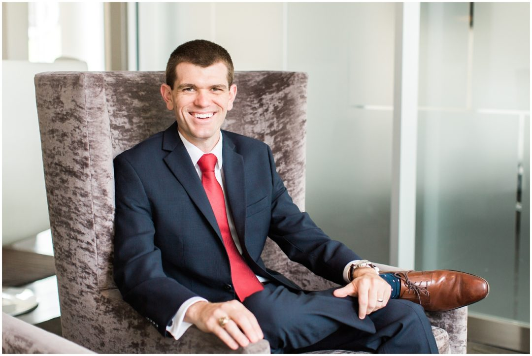 Young Professional Business Headshots | Houston, TX Portrait